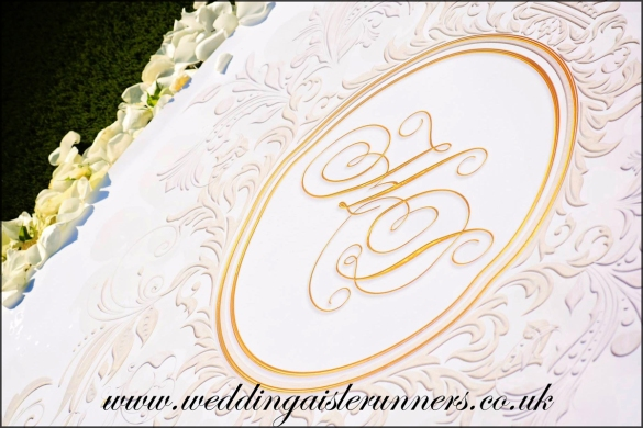 wedding aisle runner by wedding aisle runners.co.uk